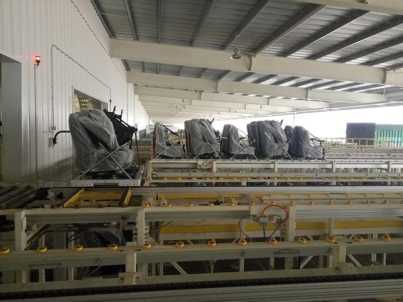 座椅生产线